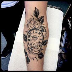 Resultado De Imagen Para Tattoo Reloj Y Rosas De Todo