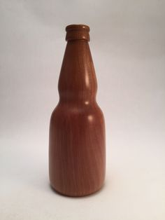 Turned Negra Modelo beer bottle - pear Modelo Beer, Hot Sauce Bottles, Beer Bottle, Pear, Woodworking, Food, Essen, Beer Bottles, Meals