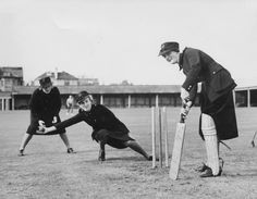 Cricket - World War Two - Lord's. ATS Girls