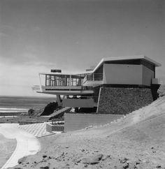 """furtho: """"Walter Weberhofer's Casa Lercari, Santa Maria del Mar, Peru, 1957 (via here) """""""
