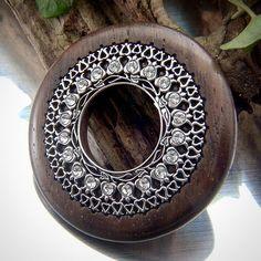 #highjewellery #pendant #medál #egyediékszer #masterpiece #ezüstékszer #woodjewellery #faékszer  www.matheekszer.hu Photos, Instagram, Pictures