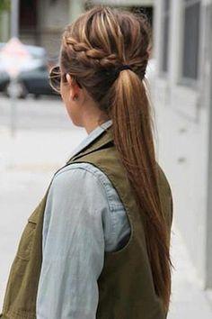 Peinado para días de lluvia