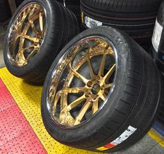 Think you could you rock these on your ride?! The Forgeline RB3C Concave finished with Tinted Gold Transparent centers, Polished outers, and the Exposed Hardware option. And, of course, freshly mounted Michelin Pilot Super Sport tires in 335/30ZR20. Learn more about the RB3C (including sizes and pricing) at: http://www.forgeline.com/products/concave-series/concave-reverse/rb3c-concave.html  #WheelWednesday #Forgeline #RB3C #notjustanotherprettywheel #madeinUSA
