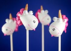 Agnes's Unicorn Cake Pops