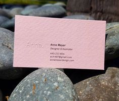 Embossing on Aquarelle  #morningprint #businesscards