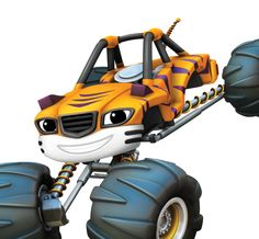 blaze and the monster machines   Stripes