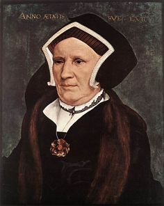 1543 Lady Margaret Butts by Hans Holbein the Younger (Isabella Stewart Gardner Museum, Boston USA) | Grand Ladies | gogm