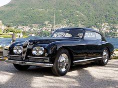 Alfa Romeo 6c 2500 SS Pininfarina coupe 1949  Plus de découvertes sur Le Blog des Tendances.fr #tendance #voiture #bateau #blogueur