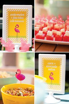 Tropical Flamingo First Birthday Bash {Budget Friendly!}