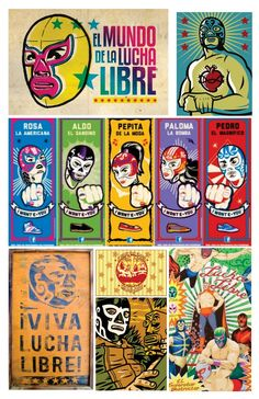 Chalk Menu, Wrestling Party, Luchador Mask, Mexico Party, Mexican Artwork, Mexican Wrestler, Mexican Mask, 41st Birthday, Vintage Posters