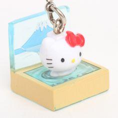 itoyoshis Kitty mascot collection Yuagari Hello Kitty : Bath Kitty