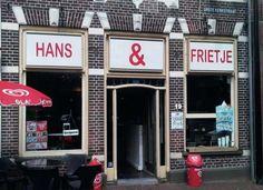 Friettent Hans en Frietje.