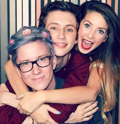 Tyler Oakley - American Youtube personality & advocate of LGBTQ youth | Troye Sivan - Australian actor, Youtuber & singer | Zoe Sugg (Zoella) - British fasion/beatuy vlogger, Youtube & online personality
