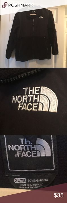 Boys North Face fleece Classic black North Face fleece North Face Jackets & Coats
