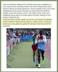 Race to sportsmanship!