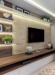 The perfect TV wall ideas that won& sacrifice your looks - 05 -. - The perfect TV wall ideas that won& sacrifice your looks – 05 – closet – # living room - Modern Tv Room, Modern Tv Wall Units, Modern Hall, Modern Living, Contemporary Tv Units, Living Room Tv Unit Designs, Living Room Wall Units, Tv Wall Unit Designs, Living Rooms