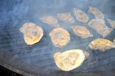 Grilled Oysters with Herb Butter Grilled Oysters, Oyster Recipes, Fresh Oysters, Herb Butter, Butter Sauce, Mussels, Seafood Recipes, Main Dishes, Grilling