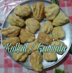 Kulkul's are a fancy sweet dish, specially prepared during Christmas time in coastal Goa region, and a traditional sweet - Gavvalu in An...