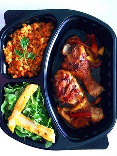 Fırında Tavuk Baget & Hellimli Salata & Bulgur Pilavı