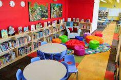 Resultado de imagem para school library