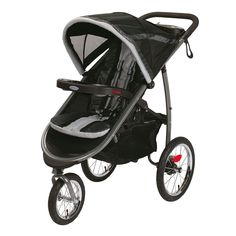 Graco Fastaction Fold Jogger Click Connect Stroller, Gotham, One Size * Learn more by visiting the image link. (This is an affiliate link) Baby Jogger Stroller, Best Baby Strollers, Car Seat And Stroller, Travel Stroller, Baby Car Seats, Jeep Stroller, Toddler Stroller, Double Strollers, Thing 1