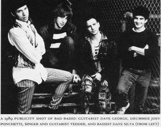 Before Eddie Vedder came to Seattle, his band Bad Radio