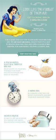 DIY: At-home #Disney skin care tips