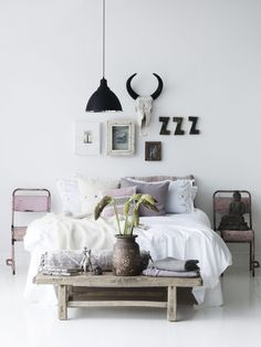 interiors, interior design, home decor, decorating ideas, bedroom inspiration | @andwhatelse
