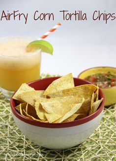 AirFry Corn Tortilla Chips