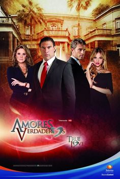 We Love Soaps: TELENOVELA WATCH: AMORES VERDADEROS First Impressions; AMOR CAUTIVO Preview