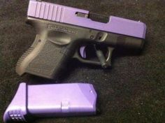 Love this! I think I will get my glock refinished in purple or light pink. the glock is my current CC but the color is boring.