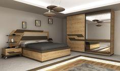 Elentra Modern Yatak Odası Takımı - Tarz Mobilya