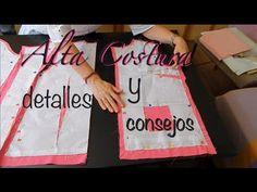 Alta Costura Clase 51A, Blusa con pinzas Hilos Flojos, Vistas, Cuello - YouTube