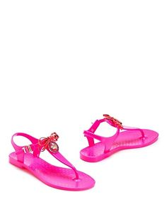 Whistler Jelly Flip Flop by Juicy Couture...Need these for my little Victoria