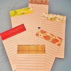 Fabric Notepad Tutorial