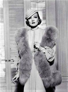 The beautiful, classy Marlene Dietrich. Great actress!