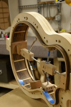 jocambrer: Shaping an acoustic guitar (by... on imgfave