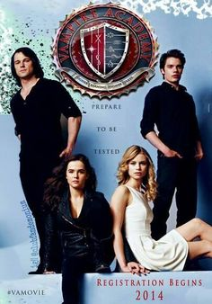 Vampire academy poster. Again, why didn't they use THIS poster to put in the theaters??? Sooo much better than the one they actually used. sigh....