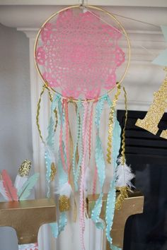 Tribal Princess Birthday Party via Kara's Party Ideas | http://KarasPartyIdeas.com (9)