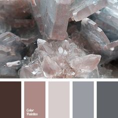 Ash-pink, transient shades of gray in combination with dark brown create a very harmonious symbiosis. In the decor of a bedroom you can use shades of gray as a leading color, select lighter shades for walls and dark for furniture and textiles. With a help