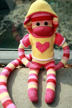 sock monkey! I want to get this for lil' mini!!