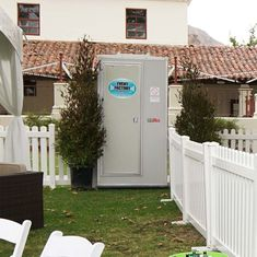 VIP portable toilet provides an abundance of lavish amenities, all contained inside the unit. Portable Toilet, Flush Toilet, Vip, The Unit, Toilets, Abundance, Outdoor Decor, Events, Home Decor