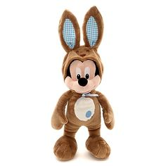 Mickey Mouse Easter Bunny 43cm Soft Toy - Chocolate Scented