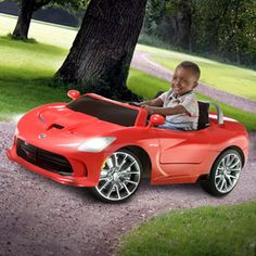 Kid Trax SRT Viper 16-Volt Battery-Powered Ride-On CHRISSY THIS IS THE ONE