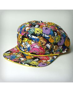 356b656d9db Adventure Time Allover Snapback Hat from Spencers Gifts Adventure Time Hat