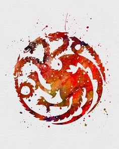 Pin this to your board! - Big Game of Thrones Sale on https://www.world-of-westeros.com/ - House Targaryen