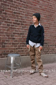 Boys winter collection with suspenders! Jongensmerkkleding.nl