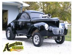Willys Gasser..Re-pin...Brought to you by #CarInsurance at #HouseofInsurance in #Eugene, Oregon