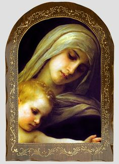 Bouguereau_Madonna_Child_Jesus_John_Baptist
