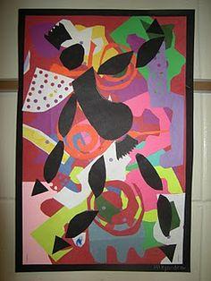 2nd Grade Matisse Dancers